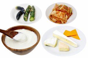 乳酸菌が含まれる食材